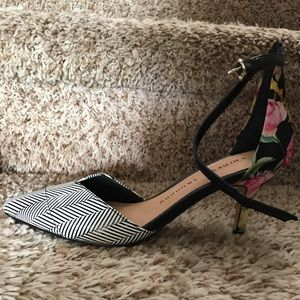 2 inch stiletto with anklet strap